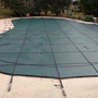 Pro Supreme Solid 20' x 44' Rectangle Safety Cover with Kleen Screen Drain, Green