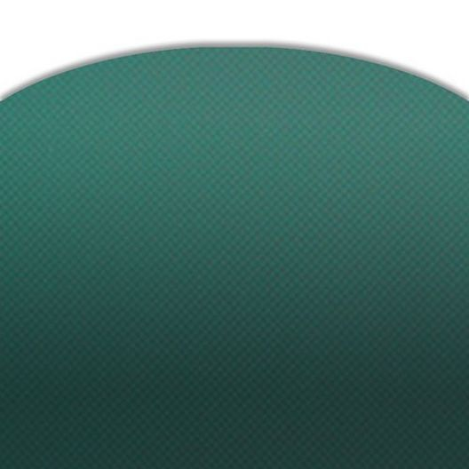 Pro Solid 16' x 32' Rectangle Safety Cover with 4' x 8' Center End Step, Green