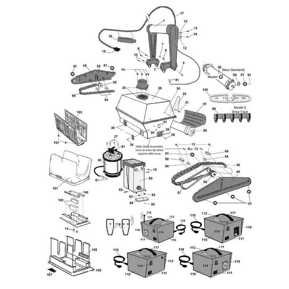 Aqua Products Aquabot Turbo, Storm & Tempo image