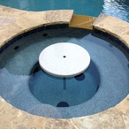 "Inter-Fab Table for Pool/Spa, 30"" Summit Gray"