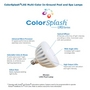 ColorSplash LXG Color LED Replacement In-Ground Pool Light 12V