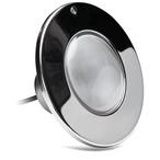Halco Lighting - 120V PureWhite LED Pool Light Fixture 500W Equivalent 100' Cord - 54167