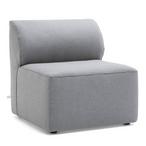 Big Joe  Mobilite Outdoor Armless Chair Cast Slate
