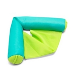 Aqua and Lime Pool Float