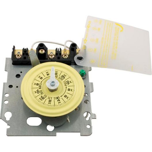 T104M 24-Hour Mechanical Time Switch - Mechanism Only, 208 - 277V