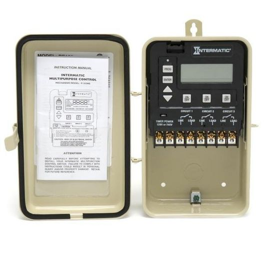 P1353ME Digital 3-circuit Time Control with Metal Enclosure