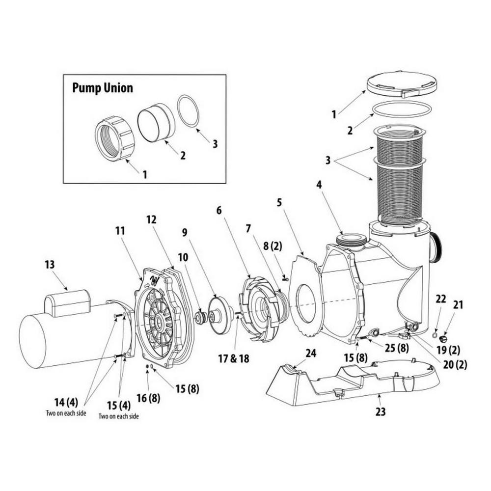 Waterway Econo-Flo VS Variable Speed Pump image