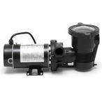 OptiFlo 347982 Horizontal Discharge 1HP Above Ground Pool Pump, 115V