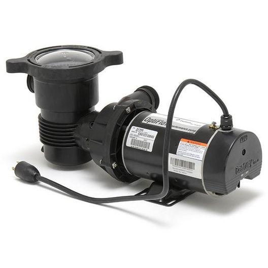 OptiFlo 347982 Horizontal Discharge 1HP Above Ground Pool Pump, 115V