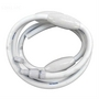 Pool Cleaner Pressure Hose 10' Complete, White
