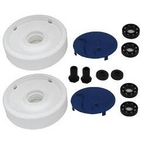 Hayward - Rear Wheels with Bearings Nuts and Hubcaps - 58158
