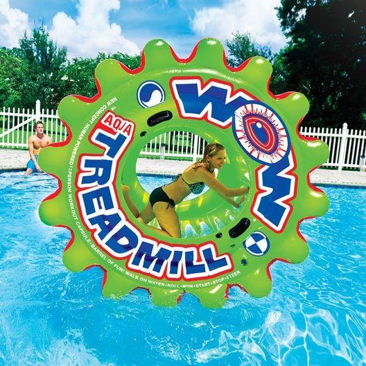 Aqua Treadmill Island Pool Float