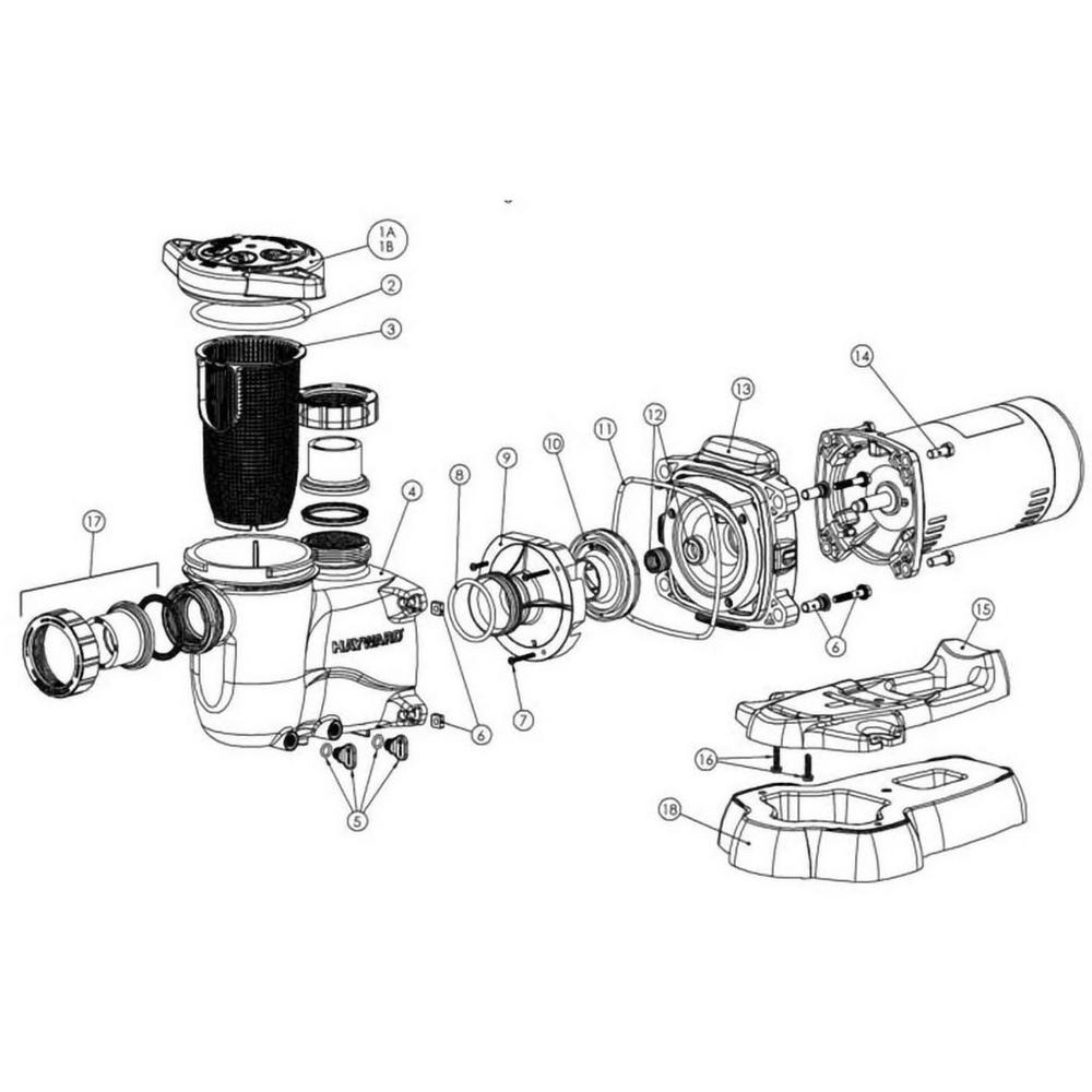 Hayward MaxFlo XL Series Pump image