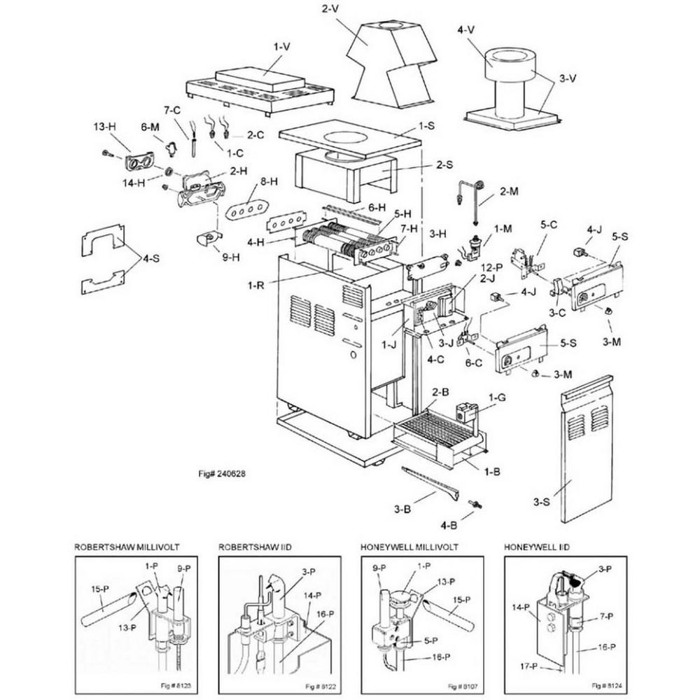 Raypak Heater 155 Series 155A Heater image