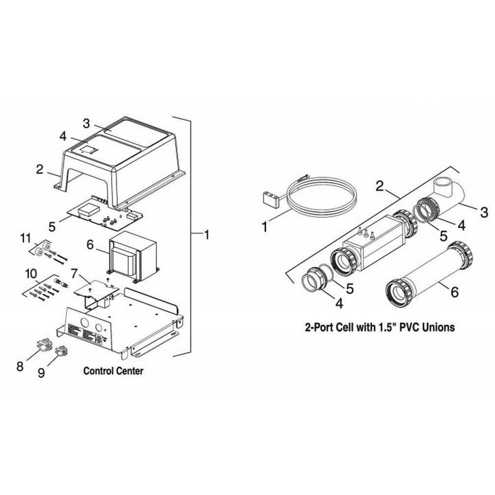 Jandy Clormatic Replacement Parts image