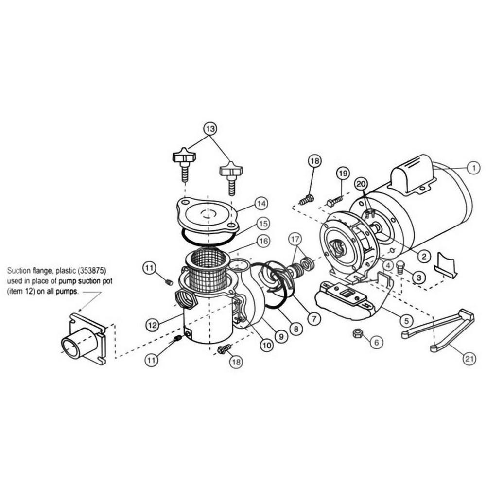 Pentair Hydropump Pump image