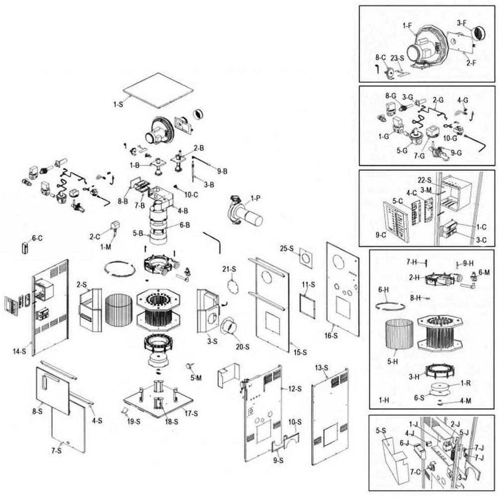 Raypak Heater 500-1000 ADB Heater image