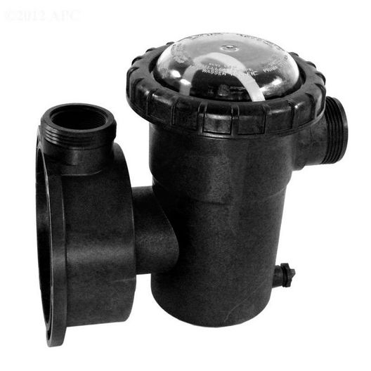 Strainer Case with Plug