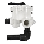 Multiport ABS 6-Position Side Mount Valve without Hoses - 1-1/2in. Port