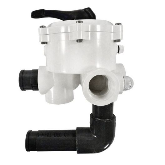 Pentair - Multiport ABS 6-Position Side Mount Valve without Hoses - 1-1/2in. Port - 601956