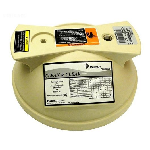 Pentair - Lid for Clean & Clear 50/100 sq. ft. - 602231