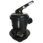 Astral Products Multiport Valve NPT, Top Mount 1-1/2in.