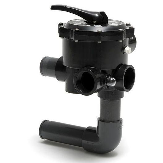 Pentair - Multiport ABS Six Position 2in. Port Valve for Hose Connections - 603139