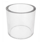 Glass Cylinder, 2-1/2in. Od x 2 3/8In