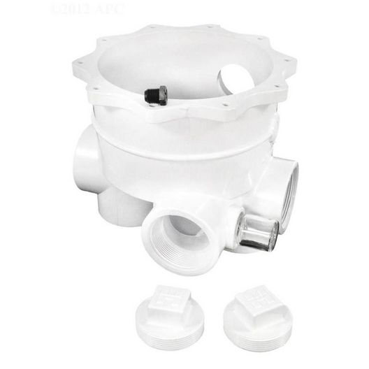 Hayward - Body, Valve-2in. All Port with Plugs - 603344