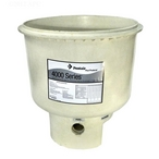 Pentair - 197130 Tank Bottom Replacement for SMBW 4000 Series D.E. Pool Filter - 603367