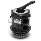 Multiport Vari-Flo Control 1-1/2in. Valve, Black