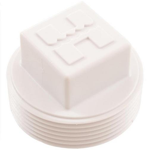 Hayward - 1-1/2in. MPT Plastic Pipe Plug, Square Head
