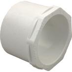 LASCO - PVC Reducer Bushing 2.5in SPG X 2in SKT, Slip x Slip - 603673