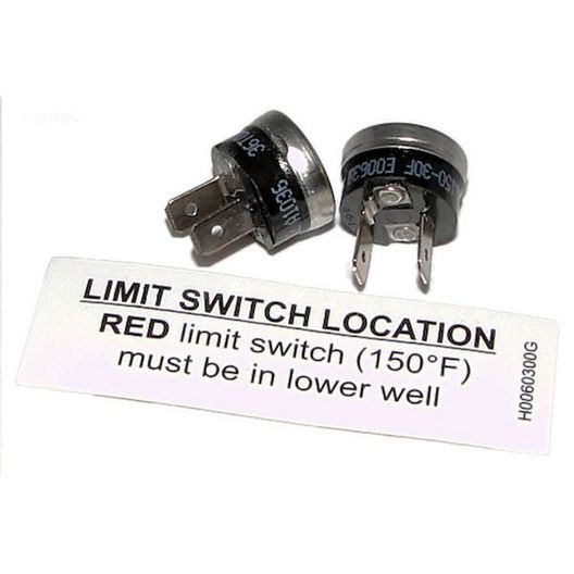 Hi Limit Switch Set of 2 (1 of Each Type)