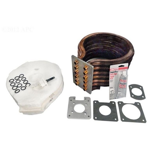Pentair - 77707-0234 Tube Sheet Coil Assembly Kit for MasterTemp/Max-E-Therm 400