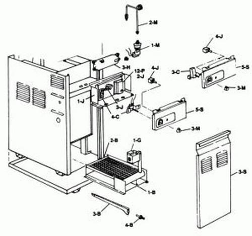 Raypak - Control Box Lid Propane No Thermostat