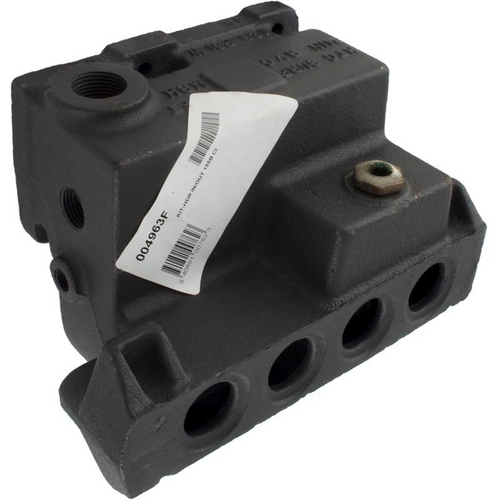 Raypak - Header, Inlet/Outlet, Ci