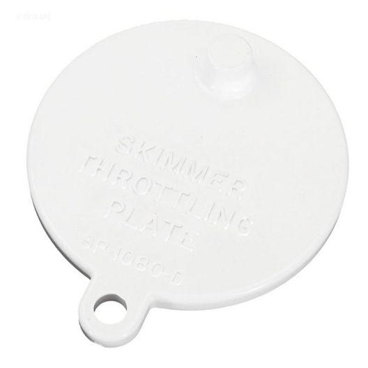 Plate, Skimmer Throttling