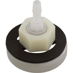 Mycropore Diffuser with Gasket, 3/4in. Threads, 1/4in. Barb, Thru Wall Mount