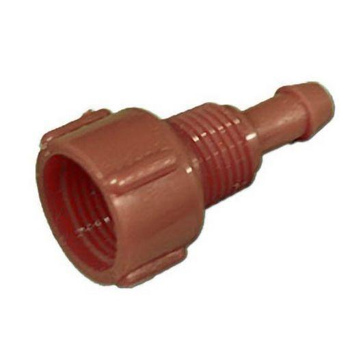 Venturi Ozone Injector Cap, Red, 1/4in, 584/684