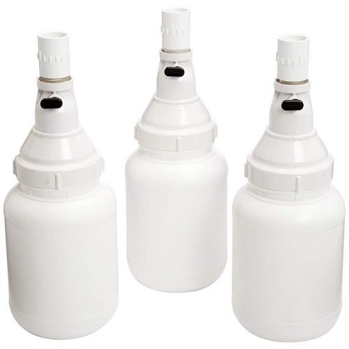 Zodiac - Hopper Extension Kit, 3 Bottles with Valves