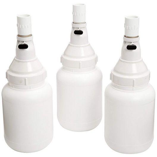 Zodiac  Hopper Extension Kit 3 Bottles with Valves