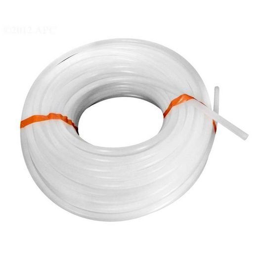 Lead Tube, White 100' x 3/8In
