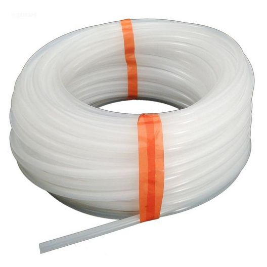 Lead Tube, White 100' x 1/4In