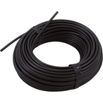Lead Tube, Black 100' x 1/4In