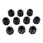 Stenner Pumps - Connecting Nut, 1/4in. (Pack of 10) - 606071