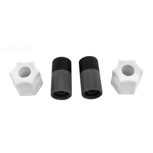 Stenner Pumps - Connecting Nut with Adaptor, 3/8in. (Pack of 2)