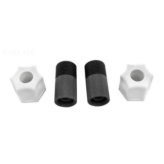 Stenner Pumps - Connecting Nut with Adaptor, 3/8in. (Pack of 2) - 606080