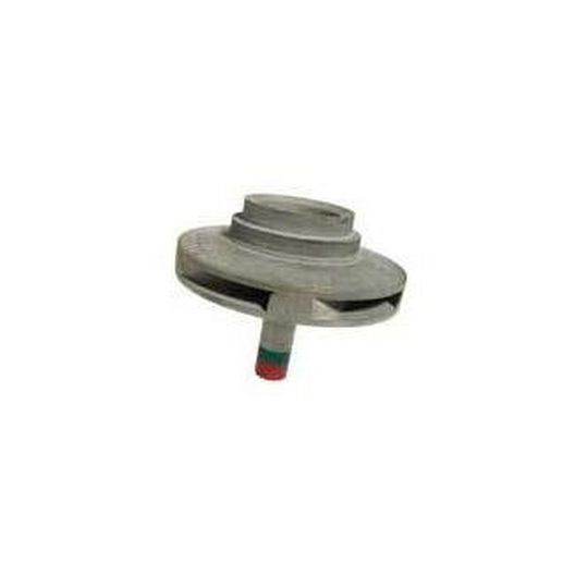 Water Group Impeller, 1.5 HP, Red, Green Stripes