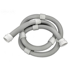 65/165/Turbo Turtle Pool Cleaner 8' Float Hose Extension Kit, Gray